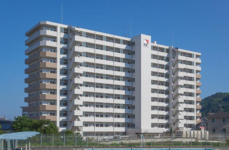 アルバガーデングランビュー東長崎 新築工事