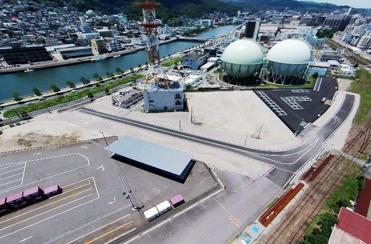 長崎駅周辺土地区画整備事業3街区造成工事