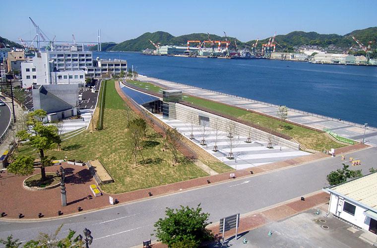 長崎港環境整備工事(1工区)
